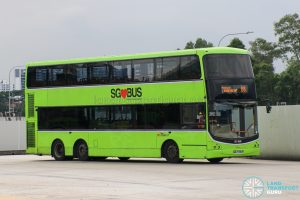 Bus 88 - SBS Transit Volvo B9TL CDGE (SBS7496H)
