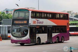 Bus 168 - SBS Transit Volvo B9TL Wright (SBS7502Z)