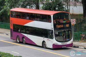 Bus 197 - SBS Transit Volvo B9TL Wright (SBS7519B)