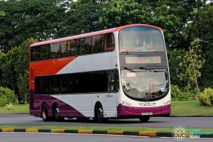 Bus 123 - SBS Transit Volvo B9TL Wright (SBS7618Z)