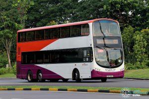 Bus 123 - SBS Transit Volvo B9TL Wright (SBS7618Z) - Hari Raya
