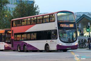 Bus 293T - SBS Transit Volvo B9TL Wright (SBS7656M)