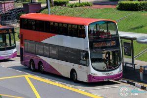 Bus 165 - SBS Transit Volvo B9TL Wright (SBS7686B)