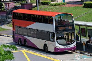 Bus 154 - SBS Transit Volvo B9TL Wright (SBS7722E)
