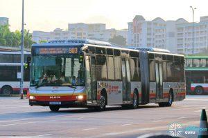 Bus 903 - SMRT Buses MAN A24 (SMB8013X)