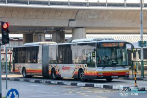 Bus 912 - SMRT Buses MAN A24 (SMB8016M)