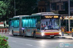 Bus 858A - SMRT Buses MAN A24 (SMB8025L)