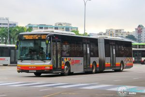 Bus 903 - SMRT Buses MAN A24 (SMB8027G)