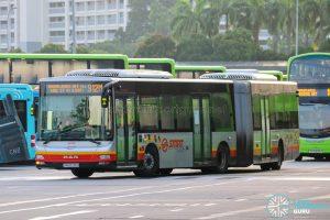 Bus 912M - SMRT Buses MAN A24 (SMB8035H)