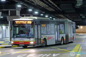 Bus 858 - SMRT Buses MAN A24 (SMB8036E)