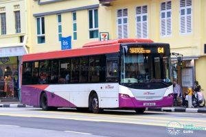 Bus 64 - SBS Transit Scania K230UB Euro IV (SBS8149D)