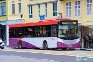 Bus 56 - SBS Transit Scania K230UB Euro IV (SBS8378J)