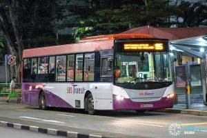 Bus 95 - SBS Transit Scania K230UB Euro IV (SBS8400C)