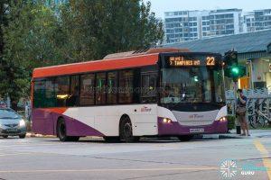 Bus 22 - SBS Transit Scania K230UB Euro V (SBS8567E)