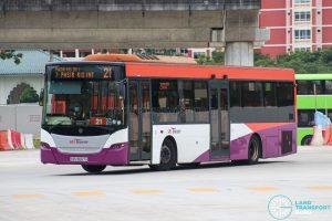 Bus 21 - SBS Transit Scania K230UB Euro V (SBS8667A)