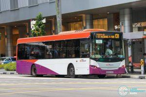 Bus 131 - SBS Transit Scania K230UB Euro V (SBS8729E)