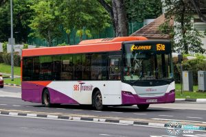 Express 151e - SBS Transit Scania K230UB Euro V (SBS8745H)