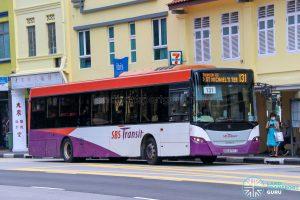 Bus 131 - SBS Transit Scania K230UB Euro V (SBS8757Z)