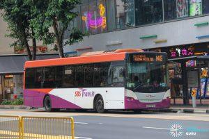 Bus 145 - SBS Transit Scania K230UB Euro V (SBS8970Z)