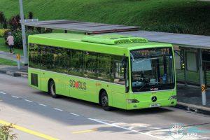 Bus 171 - SMRT Buses Mercedes-Benz OC500LE (SMB95L)
