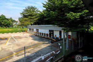 Bukit Panjang Temporary Bus Park (May 2021)