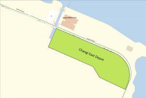 Location Map of Cross Island Line Changi East Depot (Image: LTA)