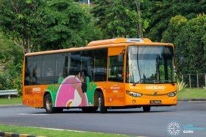Sentosa Development Corp Volvo B8RLE (PC7363B) - Sentosa Bus B