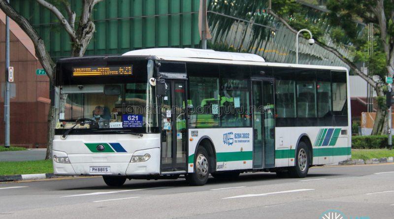 Bus 621 - Bedok Transport Yutong ZK6126HGC (PH8811S)
