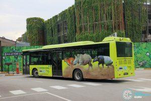 Mandai Khatib Shuttle - Woodlands Transport Yutong ZK6126HGA (PH8686L)