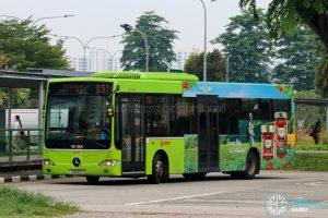 Bus 853 - SMRT Buses Mercedes-Benz OC500LE (SMB10G)