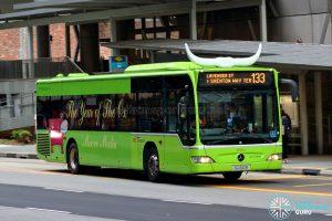 Bus 133 - SBS Transit Mercedes-Benz Citaro (SG1100B)