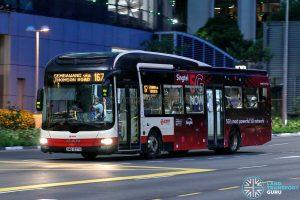 Bus 167 - SMRT Buses MAN A22 (SMB1337H)