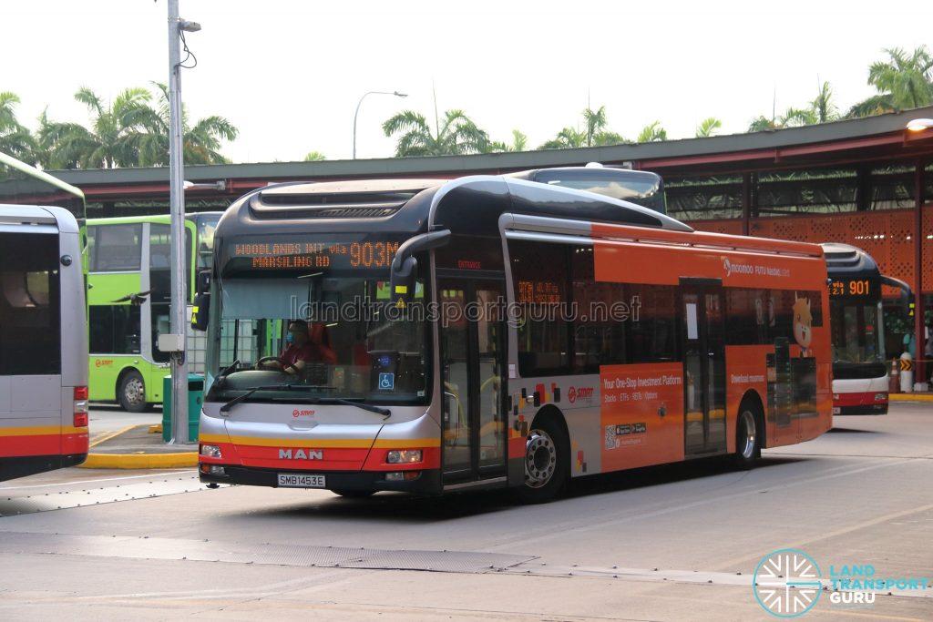 Bus 903M - SMRT Buses MAN A22 (SMB1453E)
