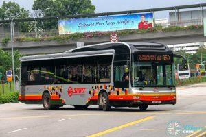 Bus 859 - SMRT Buses MAN A22 (SMB1495J)
