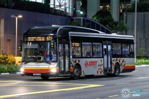 Bus 972 - SMRT Buses MAN A22 (SMB1514M)