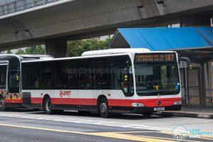 Bus 187 - SMRT Buses Mercedes-Benz Citaro (SMB169H)