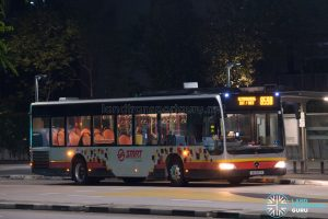 Bus 859B - SMRT Buses Mercedes-Benz Citaro (SG1697X)