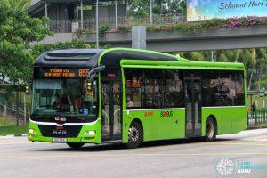 Bus 855 - SMRT Buses MAN A22 (SG1715C)