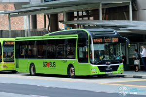City Direct 666 - Go-Ahead Singapore MAN A22 (SG1720L)