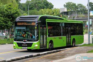 Bus 804 - SBS Transit MAN A22 (SG1721J)