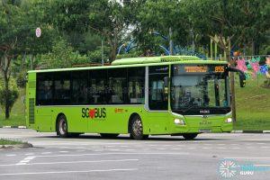 Bus 855 - SMRT Buses MAN A22 (SG1754P)