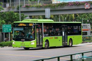 Bus 855 - SMRT Buses MAN A22 Euro 6 (SG1754P)
