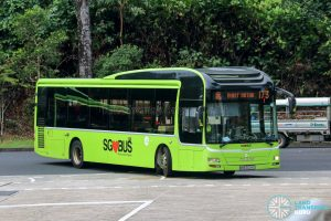 Bus 173 - Tower Transit MAN A22 (SMB3004E)