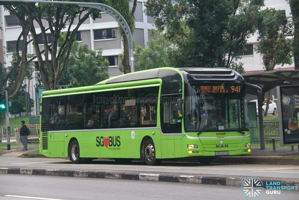 Bus 941 - Tower Transit MAN A22 (SMB3013D)