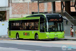 Bus 97 - Tower Transit MAN A22 (SMB3020H)