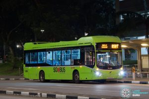 Bus 859T - SMRT Volvo B5LH (SG3032B)