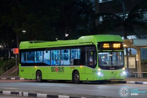 Bus 859T - SMRT Buses Volvo B5LH (SG3045P)