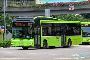 Bus 851 - SBS Transit MAN A22 (SMB3052R)