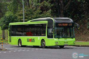 Bus 177 - Tower Transit MAN A22 (SMB3072H)