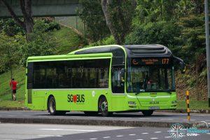 Bus 177 - Tower Transit MAN A22 (SMB3072H) [Hari Raya]